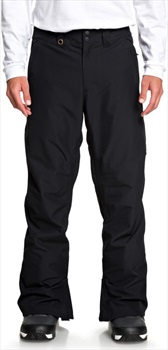 Quiksilver Estate Insulated Snowboard/Ski Pants, M Black