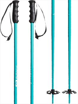 Roxy Dreamcatcher Ski Poles, 105cm Blue