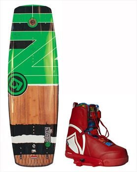 O'Brien Fade   Harley Crossover Wakeboard Package, 143  10.5-11.5 Grn