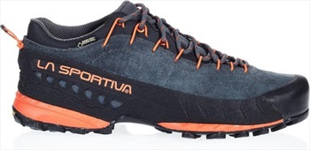 La Sportiva TX4 GTX Approach Shoe, UK 7.5 / EU 41 Carbon/Flame