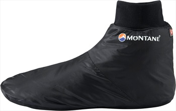 Montane Fireball Footie Insulated Camping Slippers, L, Black