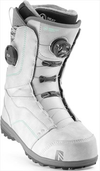 Nidecker Trinity Focus Boa Snowboard Boots, UK 6 Platinum Grey 2020