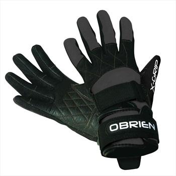 O'Brien Competitor X Grip Waterski Wakeboard Gloves, XS Black 2019