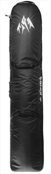 Jones Adventure Wheeled Snowboard Bag, 170cm Black/White