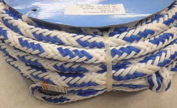 O'Brien Floating Towable Tube Rope, 6 Person Blue White