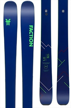 Faction Agent 1.0 Ski Only Skis, 170cm Blue/ Green 2020
