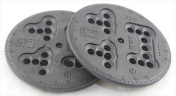 Flow Disc Kit Replacement + Screws Snowboard Binding Discs, 10cm