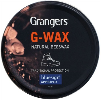 Grangers G-Wax Leather Protection Footwear Care Balm, 80g