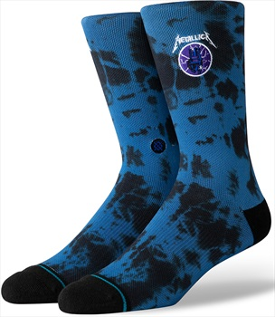 Stance Metallica Skate/Crew Socks, M Ride The Lightening