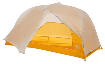 Big Agnes Tiger Wall UL1 Ultralight Backpacking Tent, 1 Man Grey/Gold