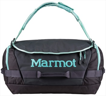 Marmot Long Hauler Duffel Travel Bag - 50L, Dark Charcoal / Blue Tint
