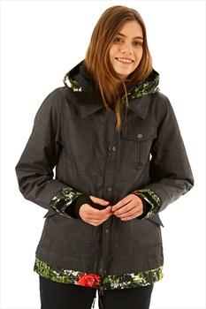 Nikita Cypress Women's Ski/Snowboard Jacket, S Black Camo Pop