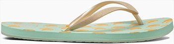 Reef Stargazer Women's Flip Flops, UK 8, Banana, Prints