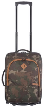 Animal Hiker Split Holdall Wheeled Bag/Suitcase, 30L Camo Green