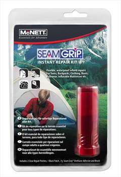 McNett SeamGrip Instant Waterproof Gear Repair Kit, 7g