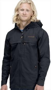 Norrona Svalbard Lightweight Waterproof Jacket, M Caviar