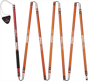 Arva Snow Safety Pro 2.80 Avalanche Safety Probe, 280cm Orange