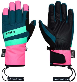 Planks Peacemaker Insulated Ski/Snowboard Gloves, M Peacock