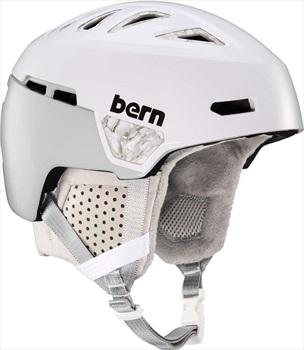 Bern Heist MIPS Ski/Snowboard Helmet, M Satin White Marbles