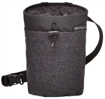 Black Diamond Gym Chalk Bag Rock Climbing Chalk Bag, S/M Smoke