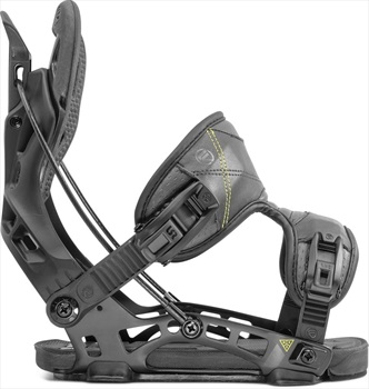 Flow NX2 Fusion Step In Snowboard Bindings, L Black 2020