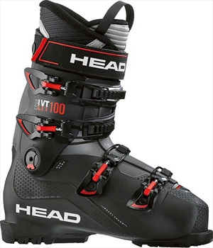 Head Edge LYT 100 Ski Boots, 27/27.5 Black/Red 2020