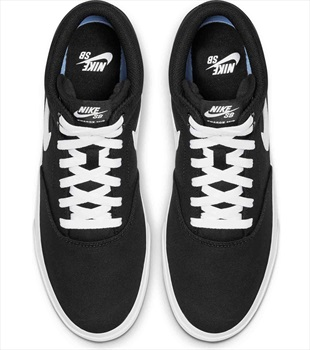 Nike SB Charge Mid Trainers Skate Shoes UK 10.5 Black/White