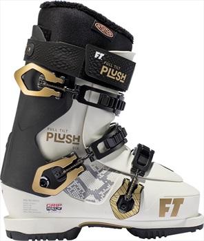 Full Tilt Plush 6 Women's Ski Boots, 25/25.5 White/Gold 2020