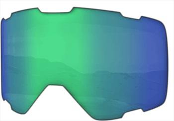 Melon Parker Ski/Snowboard Goggle Lens, One Size Green Chrome Sonar