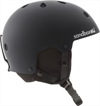 Sandbox Legend Snow Ski/Snowboard Helmet, S Matte Black