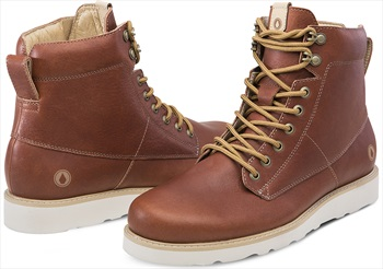 Volcom Smithington II Men's Winter Boots, UK 8.5 Rust