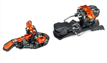 G3 ION 12 Ski Bindings, 115mm Black/Orange