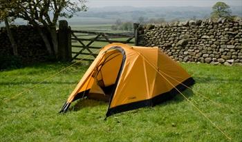 Snugpak Journey Duo Tent Backpacking & Camping Tent, 2 Man Sunburst