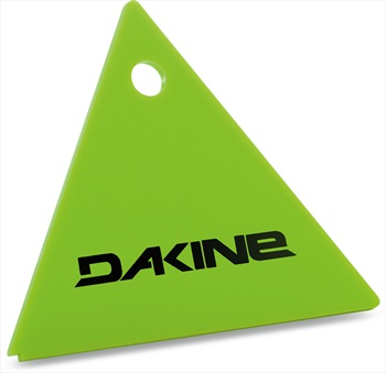 Dakine Triangle Scraper Snowboard/Ski Wax Removing Tool, Green