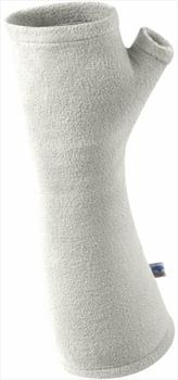 Manbi MicroFleece Wrist Warmers, S/M Winter White