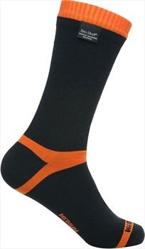 DexShell Hytherm Pro Waterproof Socks, UK 12-14 Tangelo Red Stripe