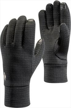 Black Diamond Heavyweight Wool Ski/Snowboard Liner Gloves, XL Black