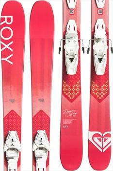 Roxy Dreamcatcher 85 Lithium 10 Women's Skis, 165cm Pink 2020