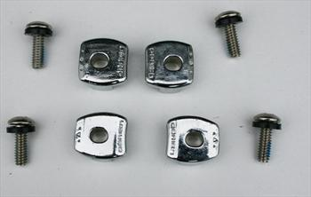 O'Brien High End Hardware Binding Slide Lock Kit Imperial Set 4 Alloy