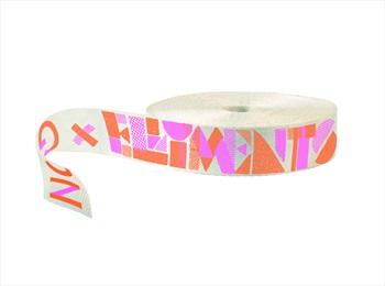 Gibbon Elliments Webbing Slackline, 25m X 50mm, Pink/Orange/White