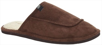Animal Halfpipe Men's Slippers, UK 11 Coffee Brown