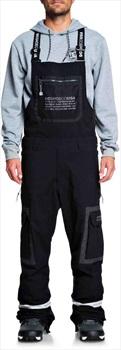 DC Revival Ski/Snowboard Bib Pants, M Black