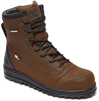 DC Travis Men's Winter Boots, UK 8 Black/Brown/Black