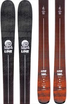 LINE Sick Day 94 Ski Only Skis, 172cm Orange/Black