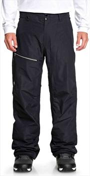 Quiksilver Forever 2L Gore Tex Ski/Snowboard Pants, L Black