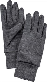 Hestra Heavy Merino Wool Ski/Snowboard Liner Gloves, M Grey