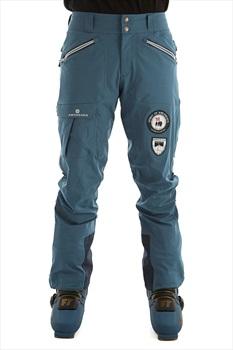Amundsen Peak Panther Ski/Snowboard Pants, L Faded Blue