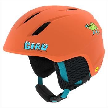 Giro Launch Kids Ski/Snowboard Helmet, XS Matte Deep Orange Dinosnow