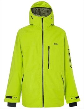 Oakley Cedar Ridge Insulated Snowboard/Ski Jacket, XL Sulphur