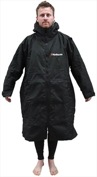 Northcore Beach Basha Sport Dressing/Changing Robe Jacket, OS Black